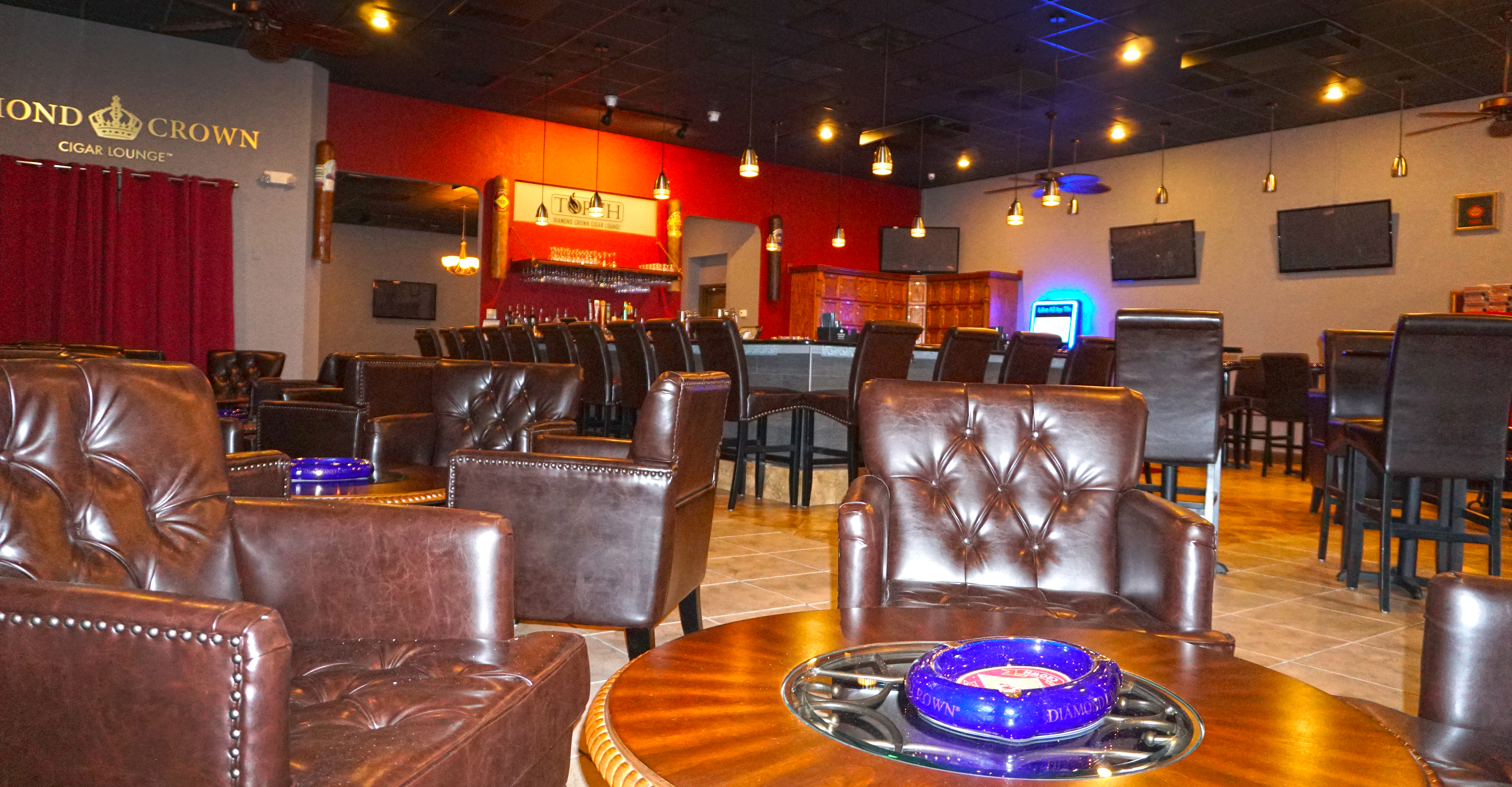 Torch Diamond Crown Cigar Lounge Carrollwood's New, Classy