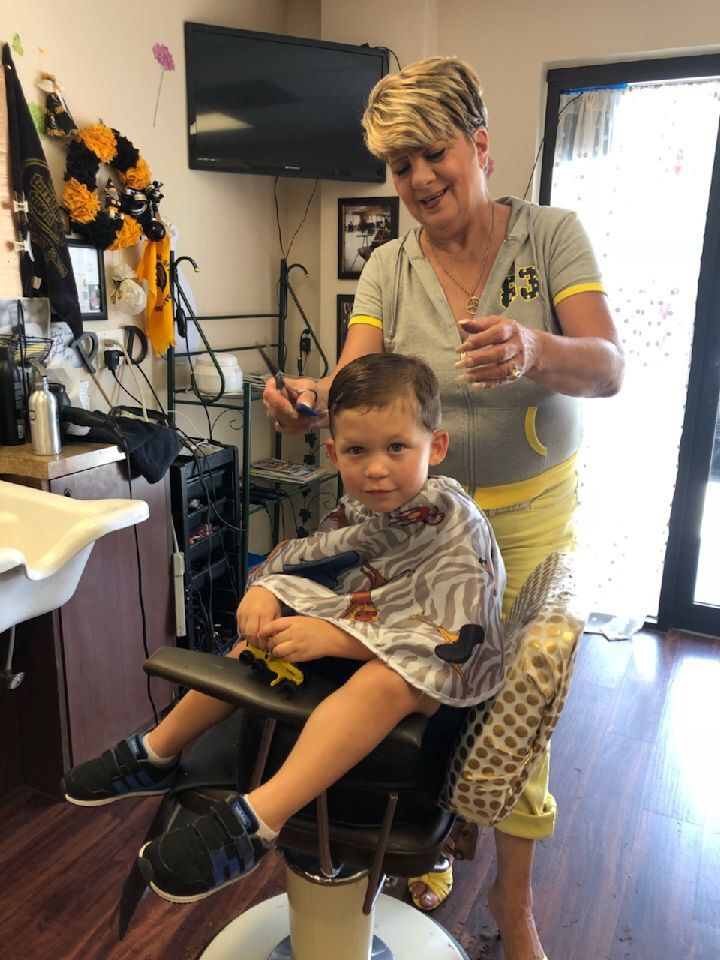 Donna will take care of you and your little ones hair!