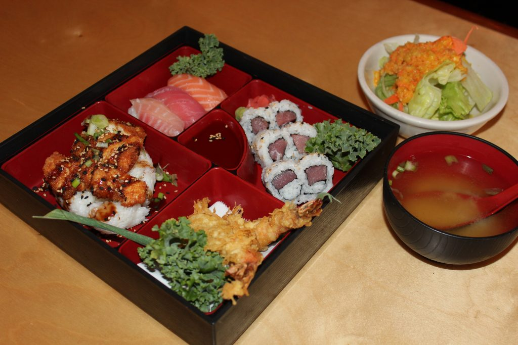 Bento Dinner Box at Faceless Samurai
